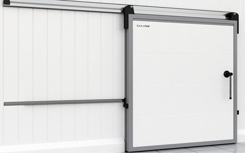 Холодильные двери откатные
